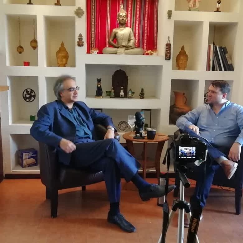 Entrevista a Sonu Shamdasani